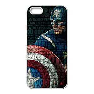 iPhone 5, 5S Phone Case The Avengers Captain America Cover Personalized Cell Phone Cases NGA967215
