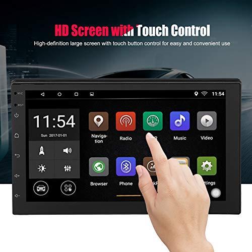 7 Pulgadas Coche Mp5 De Con Hd Touch Bluetooth Fm Radio Usb Y Aux4 Cortex A7 2 Din For Android 81 1gb Ram 16gb Rom Soporte Gps Camara De Vision Trasera Wifi Conexion Telefonica