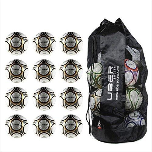 uBer Soccer Match Soccer Ball Bundle – Set of 12 – サイズ5   B01D2D3FZI