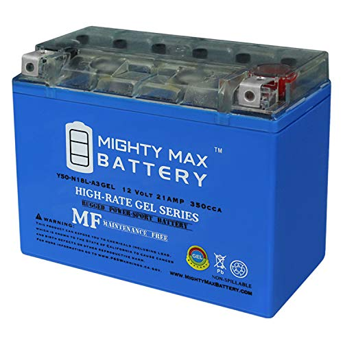 Mighty Max Battery Y50-N18L-A3 Gel Battery for MTD 600 Series Riding Lawn Mower Brand Product
