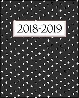 Amazon.com: Agenda settimanale 2018-2019: Anno scolastico ...