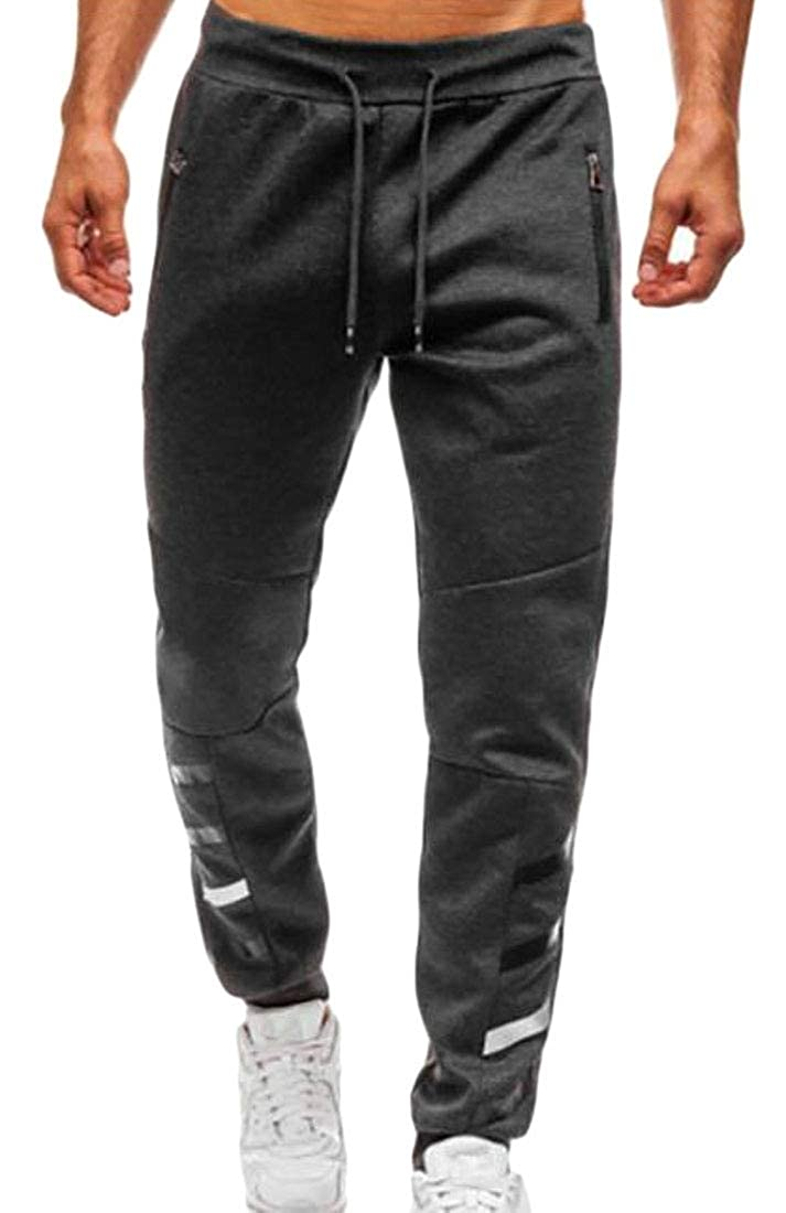 WSPLYSPJY MensCasual Jogger Sport Pants Workout Sweatpants