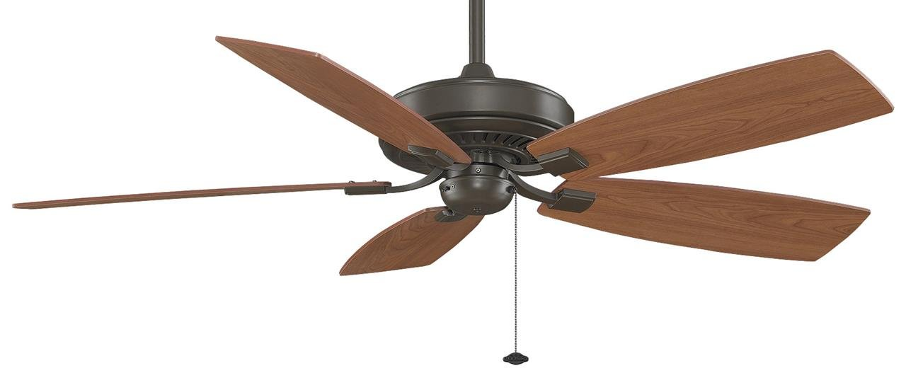 Fanimation Edgewood Deluxe - 60 inch - Oil-Rubbed Bronze with Pull-Chain - TF710OB