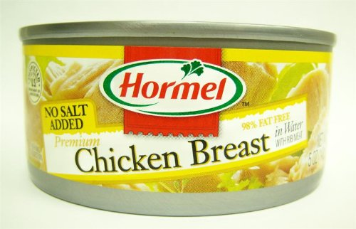 Low Sodium Ham (Hormel No Salt Added Breast of Chicken-5 oz.)