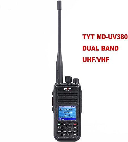 TYT MD-UV380 Dual Band VHF UHF 150-174Mhz 450-480Mhz Handheld Two Way Radio Ham