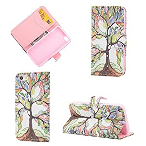 For iPhone 5 5S,Case For iPhone 5 5S,Leather iPhone 5S Case,5S Wallet Case,Candywe Bling Design PU Printed Flip Case Cover With Stand For iPhone 5 5S#008