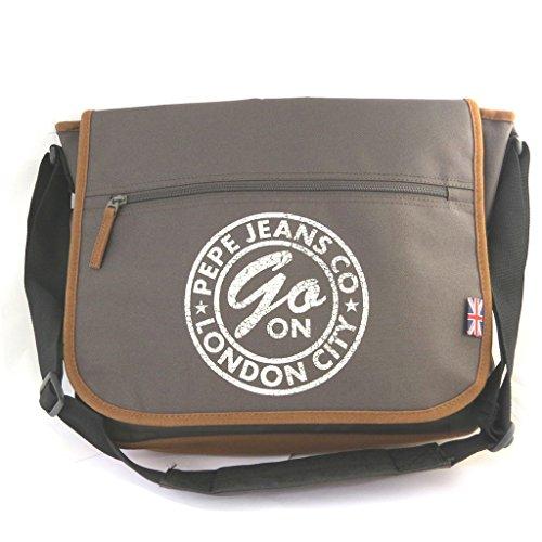 Shoulder Bag Pepe Jeans'marrón (pc Format) -39x31x8.5 Cm.