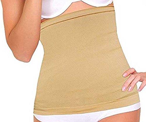 - PU Health Extra-Wide Nude Detox Stomach Wrap, 2 Piece, 0.5 Pound