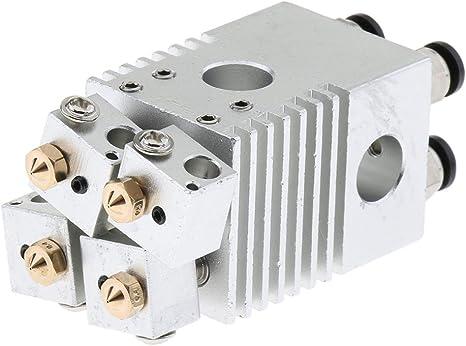 Gazechimp Cabezal De Tubo Extrusor De Aluminio para Impresora 3D ...
