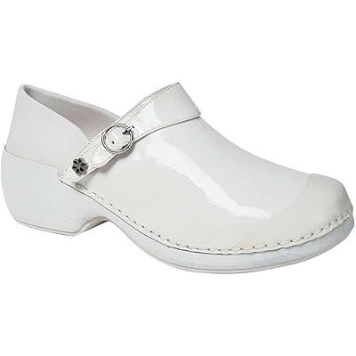 4EurSole RH006 Women's Health Care Clog White