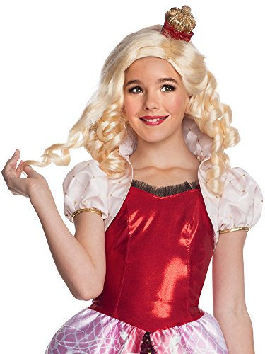 Rubie's Ever After High Child Apple White Wig with Headpiece ()