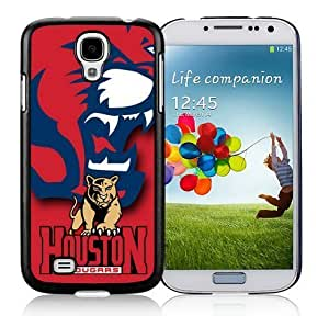 Coolest Samsung Galaxy S4 I9500 Case Mate Ncaa Houston Cougars Phone Protector Colorful Cover for Guys