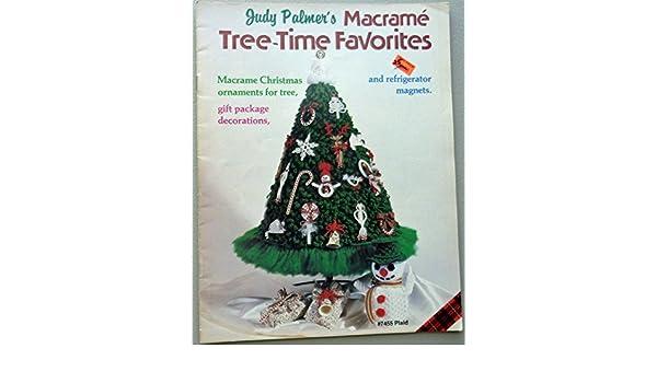 Judy Palmer S Macrame Tree Time Favorites Macrame Christmas