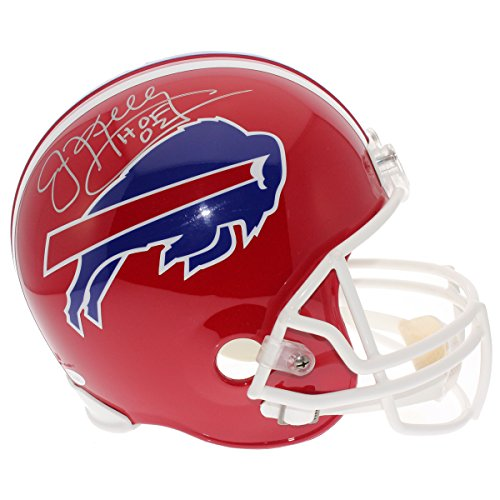 Jim Kelly Signed Buffalo Bills Riddell Replica Full Size Helmet - JSA Certified Authentic -
