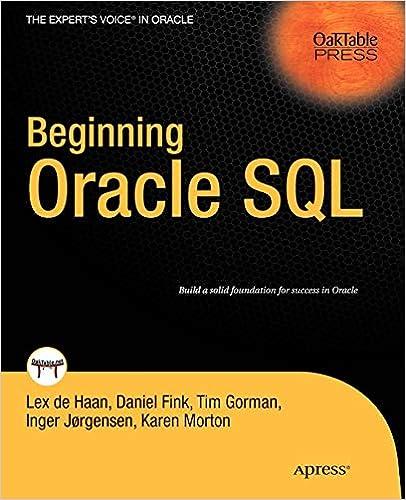 Beginning Oracle SQL: Lex deHaan, Karen Morton, Tim Gorman