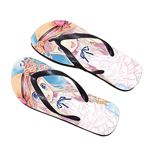 Bromeo AnoHana Anime Unisex Flip Flops Chanclas 684
