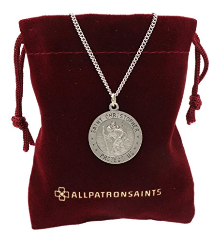 Great Medal Pendant Necklace - 1
