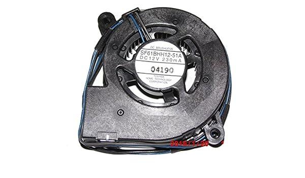Sf61bhh12 - 51A 12 V 230mA 3Wire proyector ventilador Dc ...
