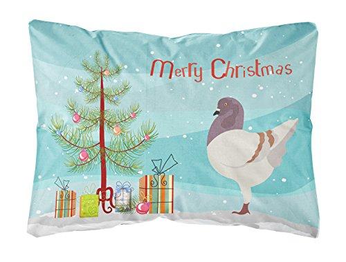 Caroline's Treasures BB9316PW1216 German Modena Pigeon Christmas Outdoor Canvas Pillow (Furniture Modena Outdoor)