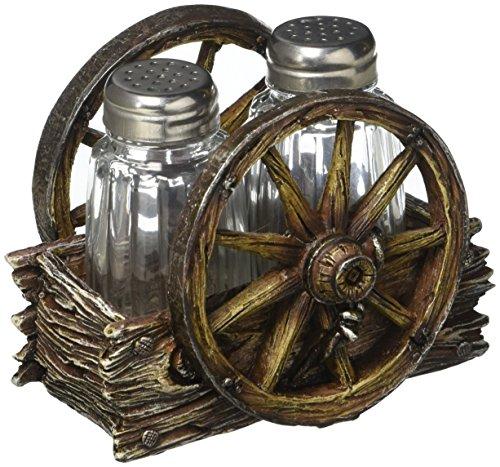 Home Locomotion Wagon Wheel Shaker ()