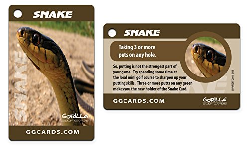 Gorilla Golf Cards : The On-Course Golf Betting Game by Gorilla Golf Cards (Image #6)