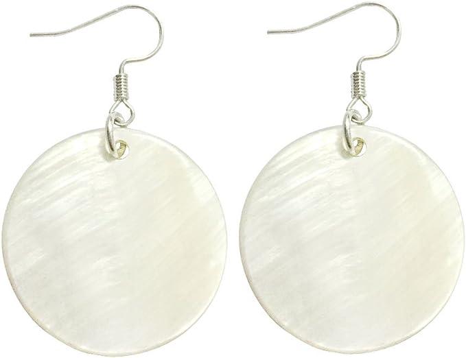 Shell Drop Dangle Earrings Women Girl Beach Party Jewelry Statement Earrings