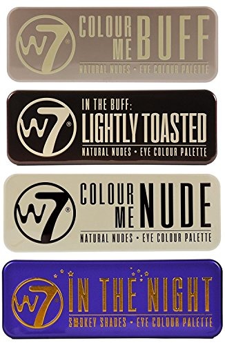W7's Ultimate Eyeshadow Collection with Natural Nudes and