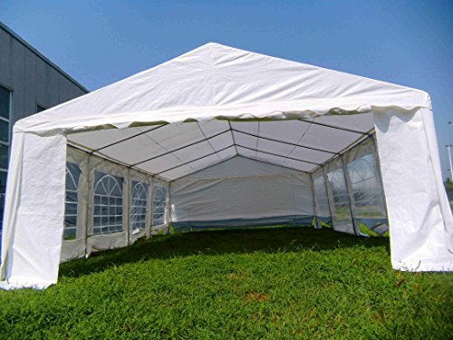 American Phoenix Canopy Tent 16×26 foot Large White Party Tent Gazebo Canopy Commercial Fair & American Phoenix Canopy Tent 16x26 foot Large White Party Tent ...