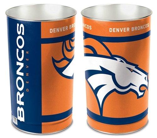 Wastebasket Broncos - Denver Broncos 15'' Waste Basket