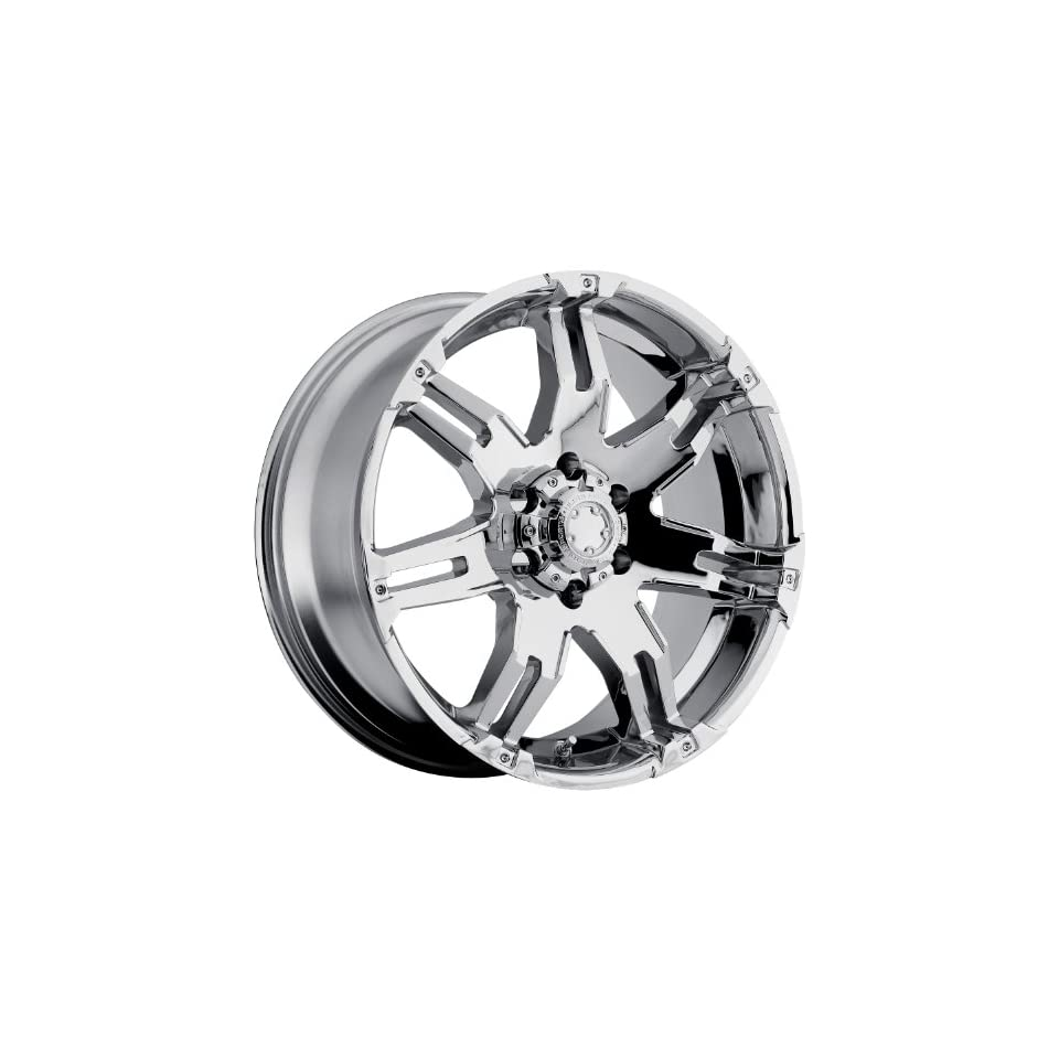 Ultra Gauntlet 20 Chrome Wheel / Rim 6x5.5 with a 18mm Offset and a 106 Hub Bore. Partnumber 238 2983C