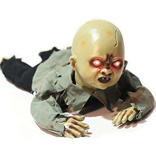 [Halloween Crawling Baby With Scary Screaming Sound Halloween Decorations By Wel. Cumbac] (Halloween Scary Babies)