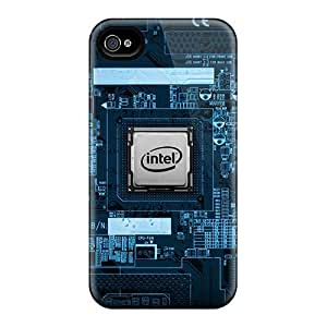 Design Intel Chip Hard Case For Iphone 6 Plus 5.5 Inch Cover