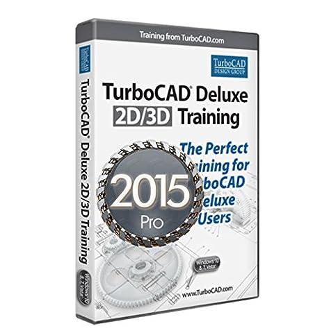 2D/3D Training Guide Bundle for TurboCAD Pro 2015 Complete TurboCAD Pro Training (Cad Program Software)