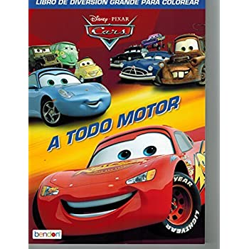 Disney Cars Coloring Book Set 2 Books Featuring Lightning McQueen