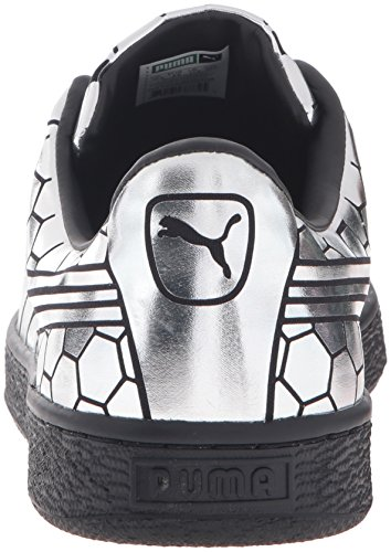 buy cheap discount outlet best store to get PUMA Men's Basket Classic Metallic Fashion Sneaker Puma Black sale fashionable niUNyYQl