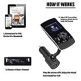 Car Bluetooth FM Transmitter, Wireless In-Car Radio