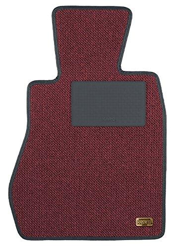 KARO(カロ) フロアマット KRONE ツイードボルドー ホンダ S600S800 0205(一台分) B00NSRLAVA KRONE×ツイードボルドー KRONE×ツイードボルドー