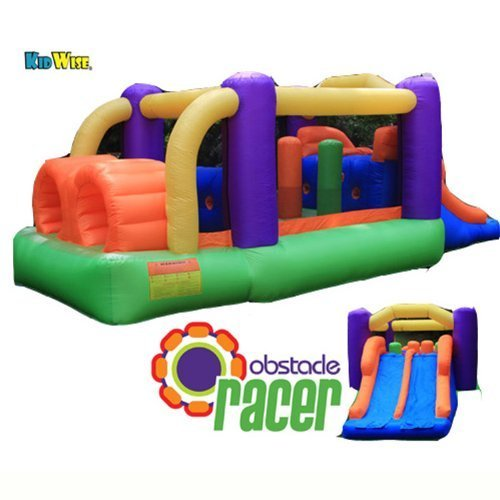 Top inflatable obstacle course commercial grade