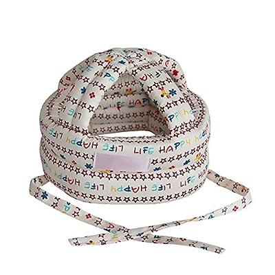 Pueri Baby Safety Helmet Toddler Adjustable Head Protection Cap No Bumps Protective Hat