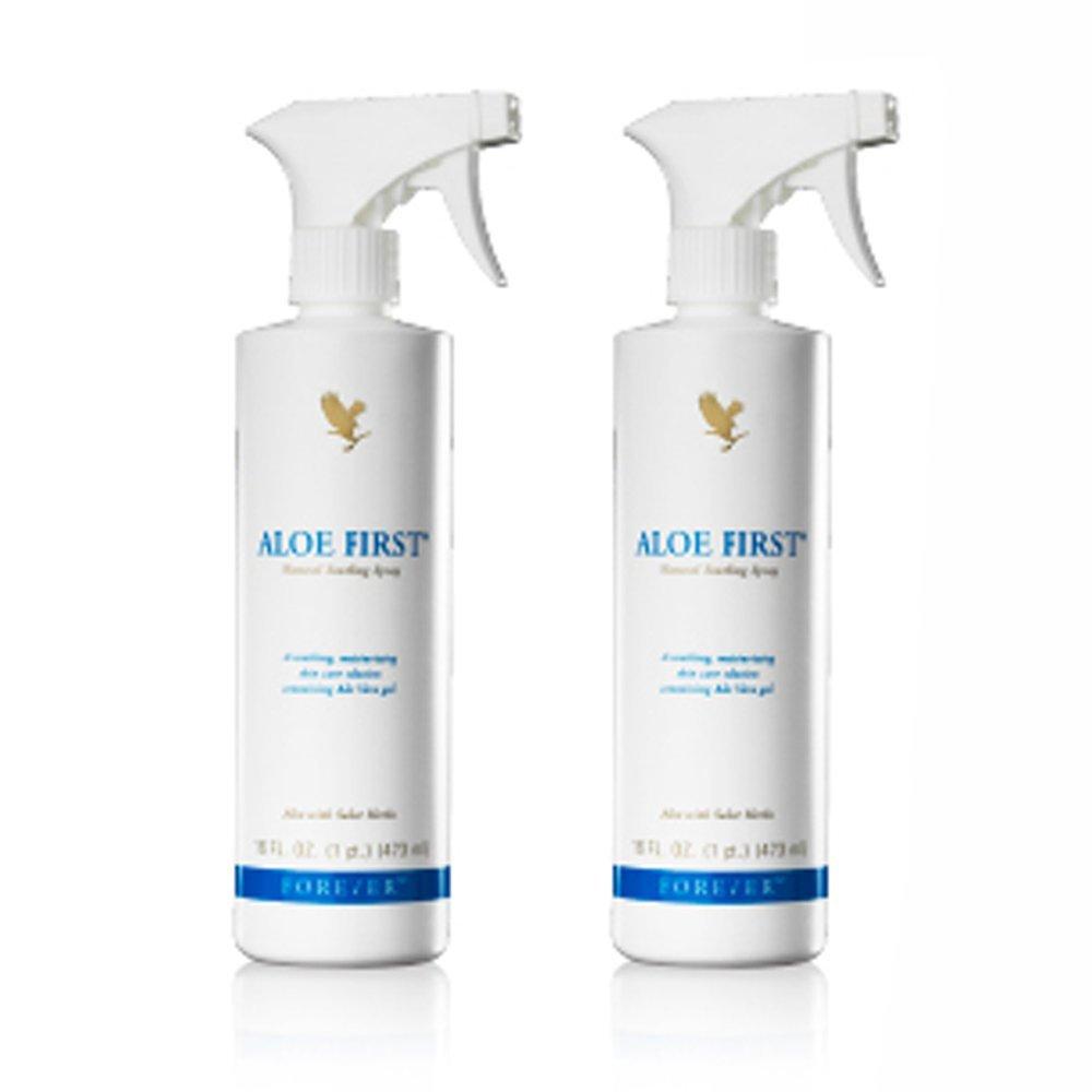Forever Living FLP, Aloe Shop, 2First Spray Aloe Vera Gel, spray idratante all'aloe (etichetta in lingua italiana non garantita)