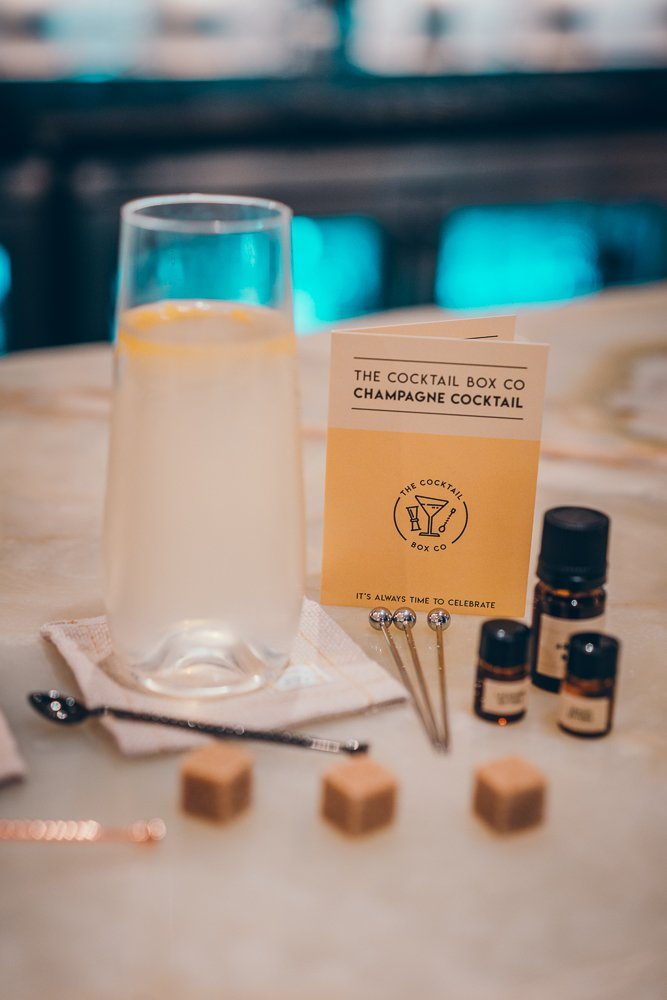 Cocktail Kit - The Champagne Cocktail - Makes 6 Premium Cocktails