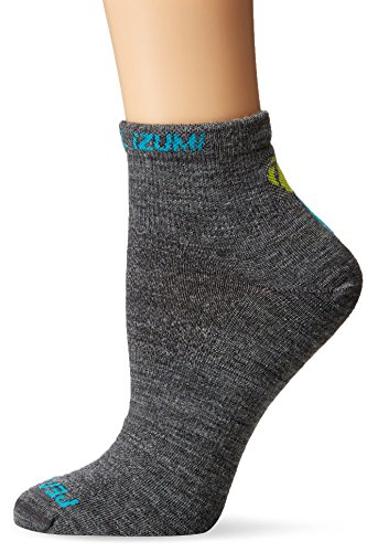 Pearl iZUMi Ride Women's Elite Wool Socks, Medium, Shadow