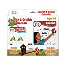 Brainy Baby Spanish and English Flashcards, DVD and Boardbook Collection Deluxe