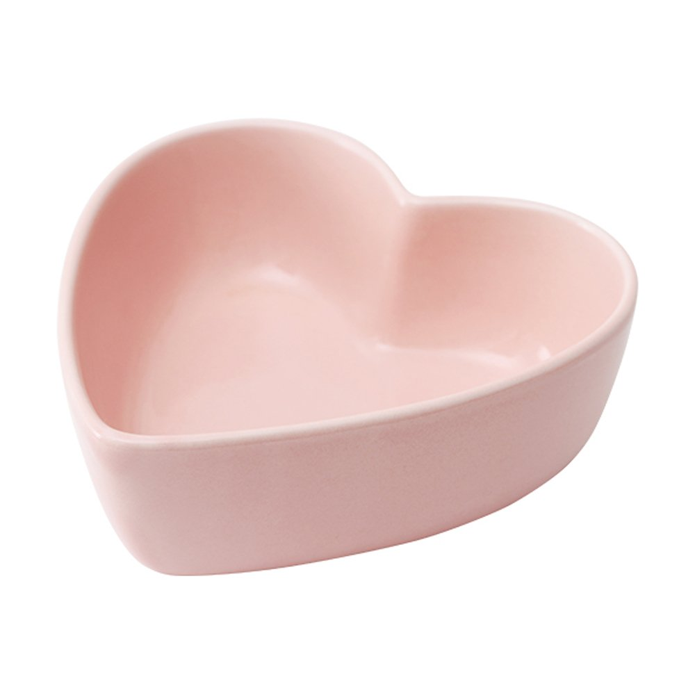 WAIT FLY Heart-shaped Bowls for Salad Soup Snack Dessert Best Kitchen Household Cooking Gifts for Home Kitchen, Pink/Blue/White/Green