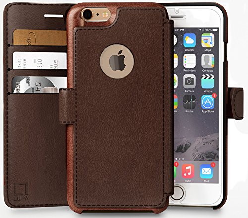 iPhone 6, 6s Wallet Case | Durable and Slim | Lightweight with...