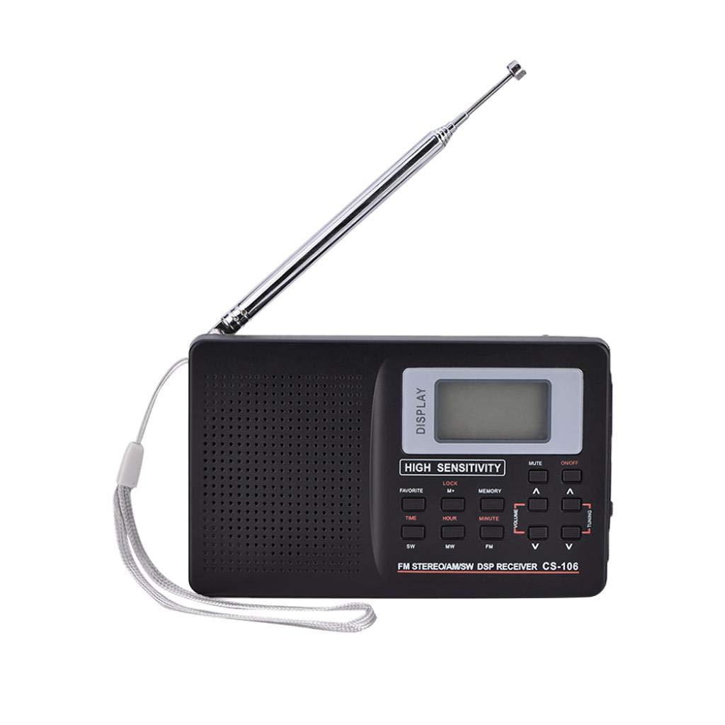Tonysa FM/Am/SW/LW/TV Receptor de Radio de frecuencia ...