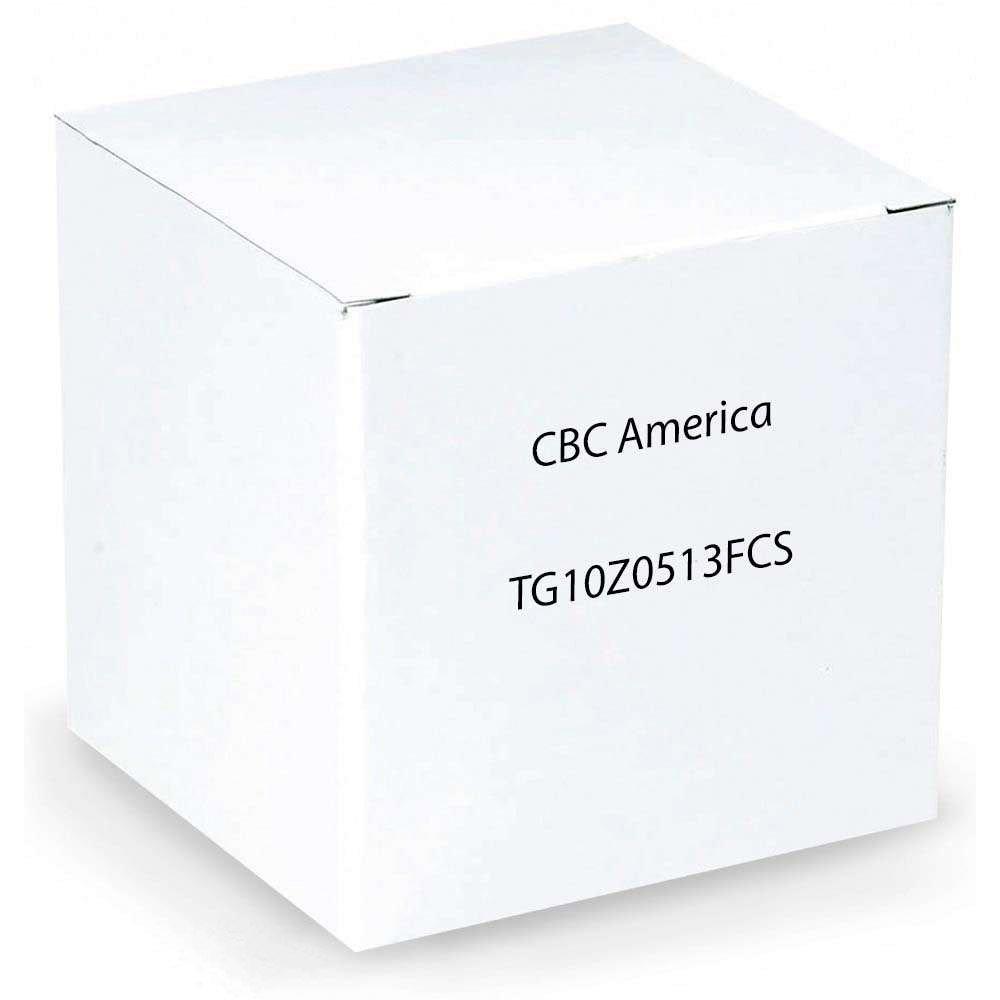 Computar TG10Z0513FCS 0.33-Inch Varifocal lens 5-50mm F1.3 Auto Iris DC Drive by Chugai Boyeki America