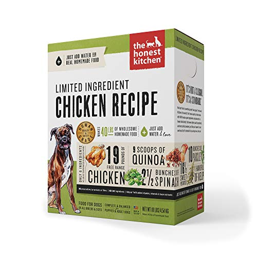 The Honest Kitchen Limited Ingredient Dehydrated Grain Free Chicken Dog Food 10 lb - Thrive
