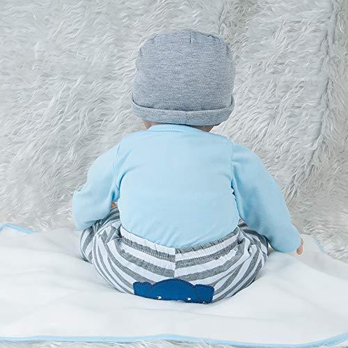 AFYH Simulation Doll Reborn Baby,Simulation Children's Doll - Rebirth Doll - Realistic Baby Companion - Colección de arte 55cm - Dé a su hijo un precioso Regalo. by AFYH (Image #2)