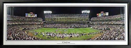 Framed Coliseum (Oakland Raiders Oakland Coliseum Panoramic Framed)